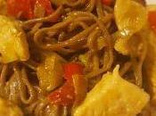 Noodles trigo sarraceno estilo japonés