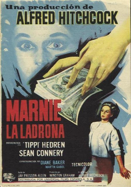 Marnie la Ladrona (Alfred Hitchcock.1964)