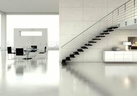 Escaleras autoportantes.Las escaleras Glam