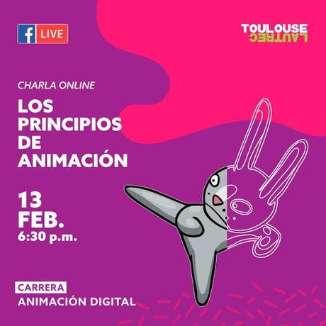 Clases online gratuitas de animación, en español.