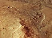 Huellas antiguos cauces Marte