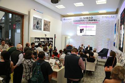 CUENTA EDOMÉX CON PRESENCIA LITERARIA EN LA FERIA INTERNACIONAL DEL LIBRO DEL PALACIO DE MINERÍA
