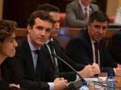 Casado denuncia Sánchez instrumentaliza instituciones quiere hacer días hecho meses.