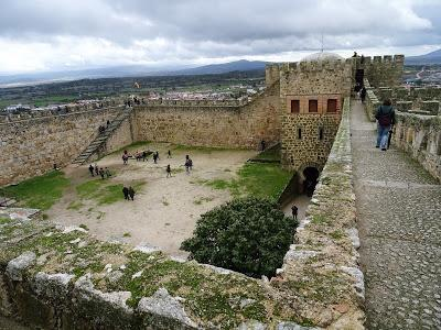 Interior del Castillo de Trujillo, Cáceres