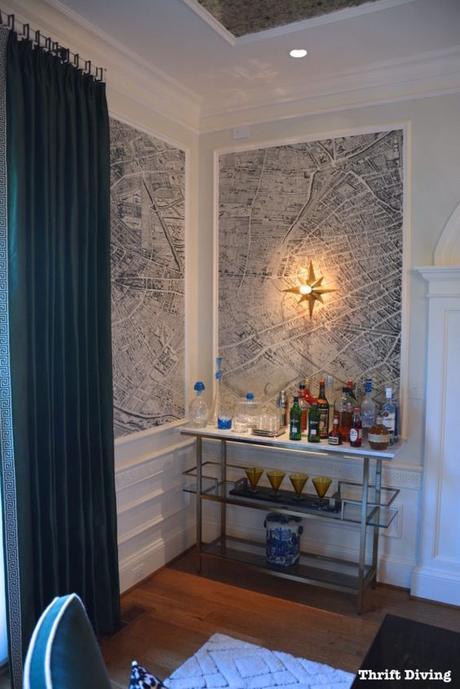 Un cambio radical en la decoración con un papel pintado