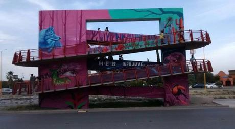 Adornarán las calles de San Luis Potosí con 45 murales