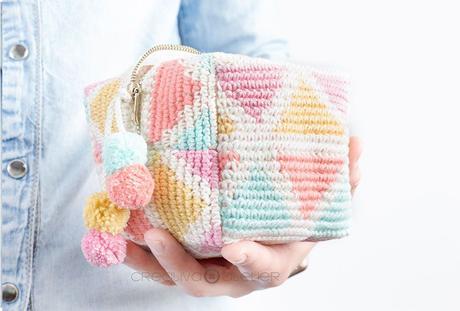 Neceser de Crochet Tapestry CUBE – Tutorial y Patrón –