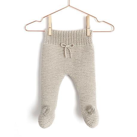 Cómo hacer una Polaina d punto para bebé - Patrón y Tutorial -