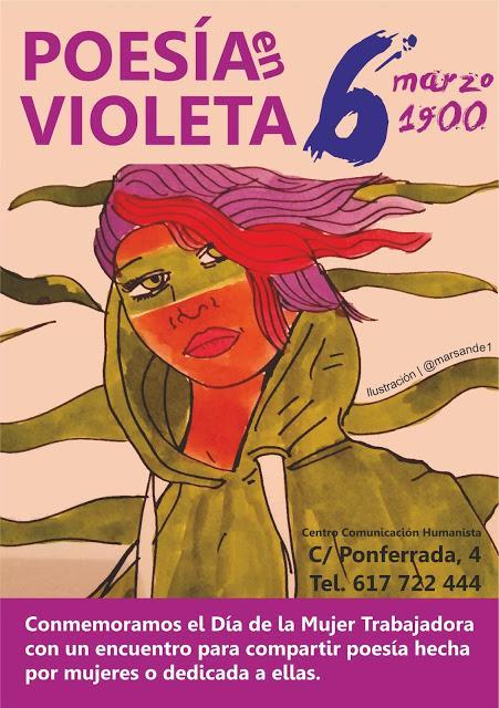 Encuentro | Poesía en violeta
