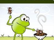 Solución problema sapos moscas. ejemplo regla tres compuesta