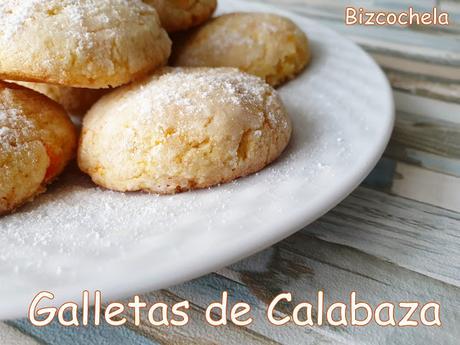 GALLETAS BIZCOCHONAS DE CALABAZA