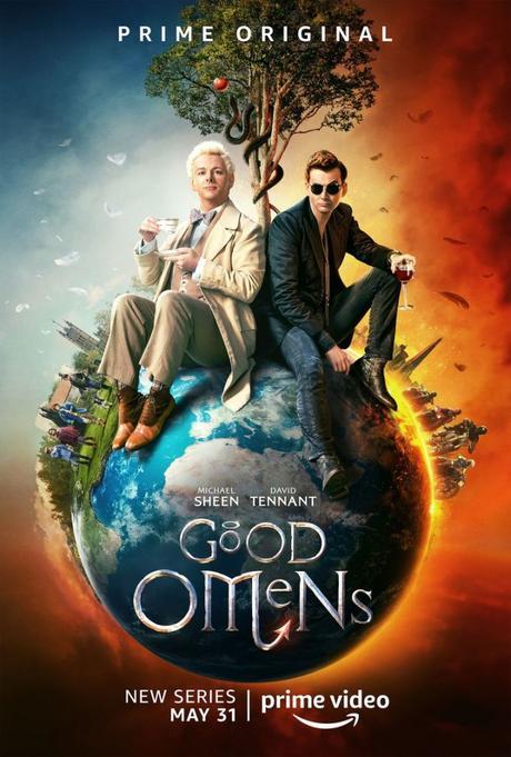 Afiche y avance de Good Omens, la nueva serie de Neil Gaiman en Amazon