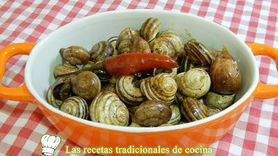 Receta fácil de caracoles picantes un delicioso aperitivo