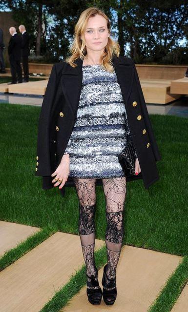 peacot navey Diane Kruger