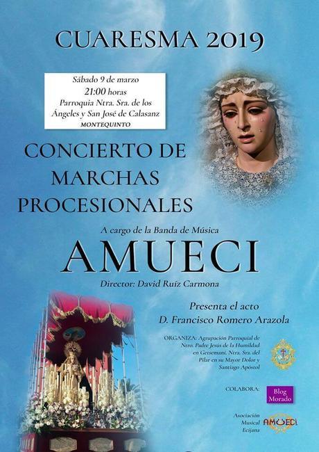 Concierto de AMUECI en Montequinto el sábado 9 de marzo