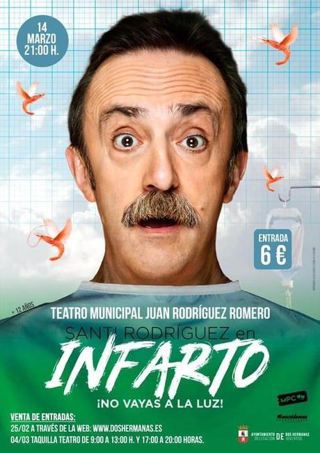 El próximo día 14 de marzo actuará Santi Rodríguez en el Teatro Municipal de Dos Hermanas