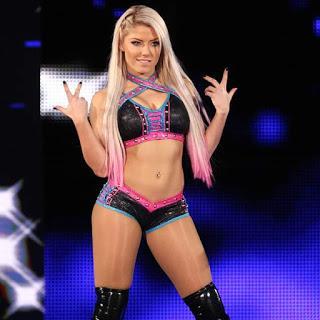 Alexa  Bliss niega  nueva lesión