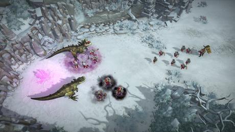 Las batallas estratégicas con dinosaurios de Warparty llegan el 28 de marzo