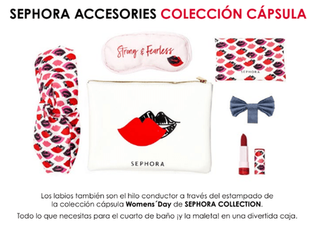 Sephora celebra el Mes de la Mujer con una colección exclusiva benéfica.