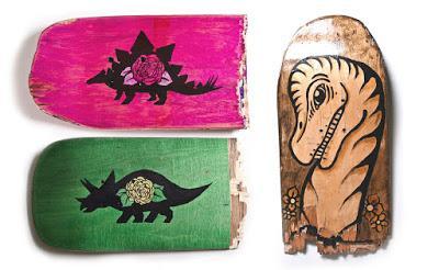 Los veggiesaurus de Ian Ruisard
