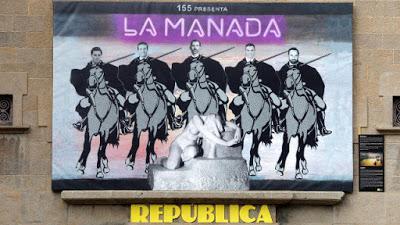 Critican un mural en Olot.