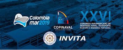 Este 13, 14 y 15 de marzo 2019 COLOMBIAMAR – COPINAVAL 2019.