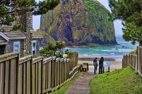 cannon_beach ▷ 12 mejores lugares para alojarse en la costa de Oregon
