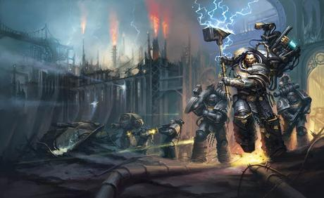 Packs solidarios de novelas de Horus Heresy en Humble Bundle