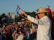 Preside Raúl acto Primero Mayo Santiago Cuba