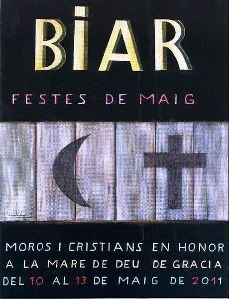 Biar. Fiestas de Moros y Cristianos 2011