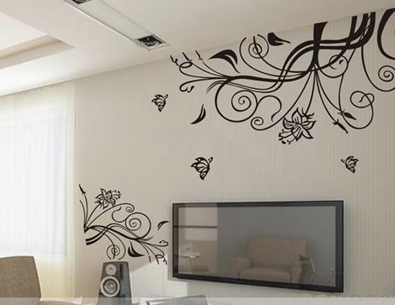 Vinilos decorativos para tu hogar paperblog - Adornos de pared ...