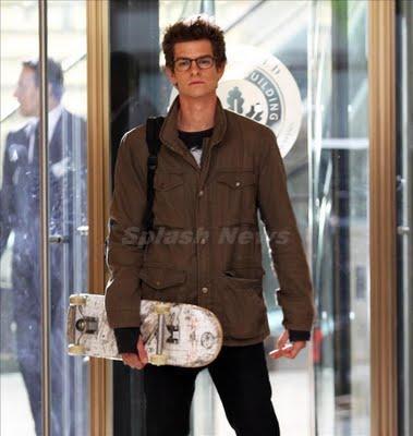 Vídeo y nuevas fotos de Andrew Garfield, Emma Stone y Rhys Ifans en el rodaje de 'The Amazing Spider-Man'