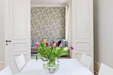 Renovar un piso con papel de pared paperblog - Papel para paredes con gotele ...