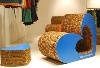 Sillones y sillas ecol gicos paperblog for Muebles de carton precios