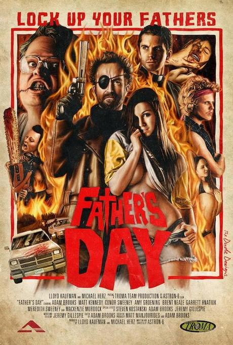 TRAILER Y POSTER DE FATHER'S DAY
