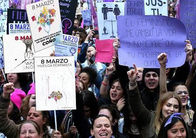 Pimpilipausa.es    8 Marzo. HUELGA FEMINISTA. DÍA INTERNACIONAL DE LA MUJER.