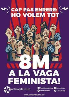 8-M, tiempo de mujeres.