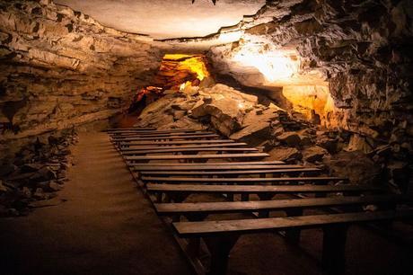 Benches.jpg.optimal ▷ Cómo planificar su visita al Parque Nacional de Mammoth Cave