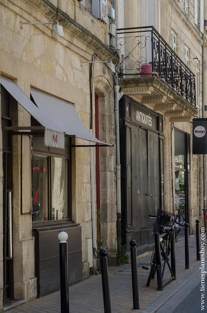 Barrio de Chartrons viaje Burdeos Francia roadtrip