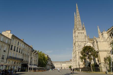 Burdeos catedral viaje Francia Aquitania