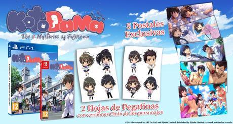 Kotodama: The 7 Mysteries of Fujisawa llegará a Playstation 4 a finales de mayo