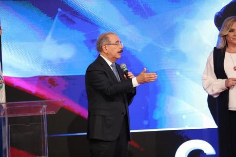 Danilo dice que lucha por la RD de hoy y la RD del mañana.