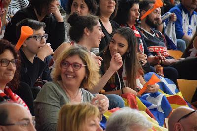 Galería de clics del Uni Girona-Perfumerías Avenida (final de la Copa de la Reina de Vitoria)