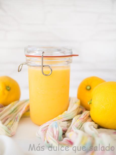 Cómo preparar Lemon Curd en microondas.