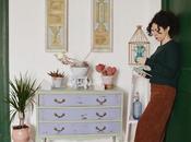 Cómo renovar vieja cómoda técnica shabby chic pinturas fleur