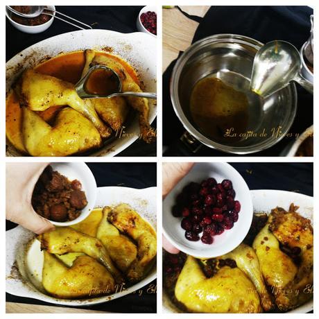 Pollo al estilo de Amberes - inspirada en Clara Peeters