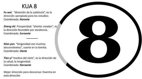 Kua 8 Mejores direcciones