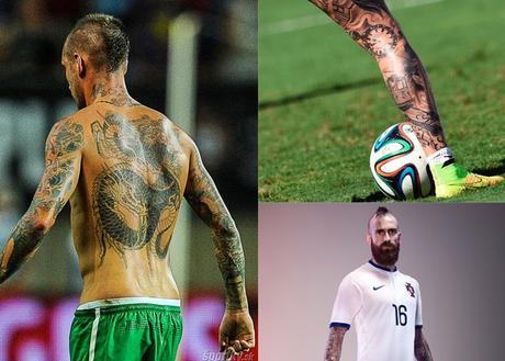 A Raúl Meireles pronto no le quedará sitio donde tatuarse.