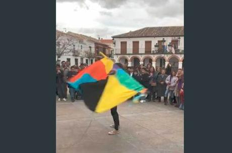 Bailar la bandera, Carnavales de Ánimas