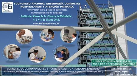 I Congreso Nacional Enfermería Consultas Hospitalarias y Atención Primaria #enfermerinnova19